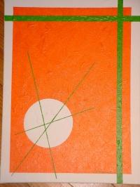 COMPOSITION AST 35x27 cm