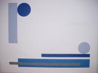 COMPOSITION AUX COULEURS DE BERCK -C'EST COMME VOUS VOULEZ-AST 65x100cm