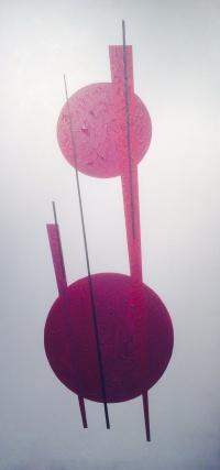 SUPERPOSITION Acrylique sur toile